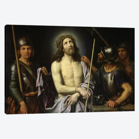 Ecce Homo  Canvas Print #BMN8257} by Pierre Mignard Canvas Wall Art