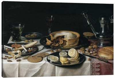 Still Life, 1625-30  Canvas Art Print