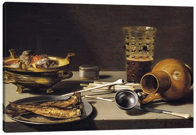 Still Life, 1627  Canvas Art Print