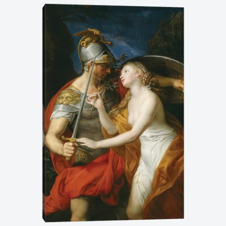 Peace and War, 1776  Canvas Print #BMN8286} by Pompeo Girolamo Batoni Canvas Print