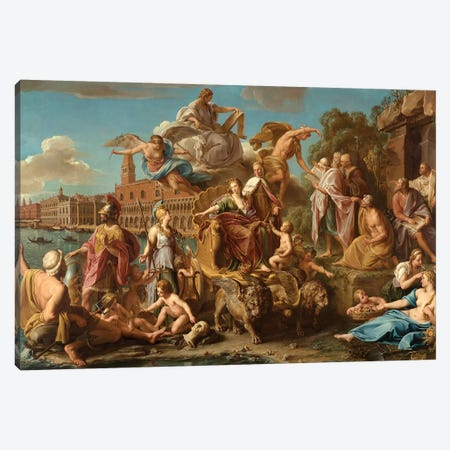 The Triumph of Venice, 1737  Canvas Print #BMN8290} by Pompeo Girolamo Batoni Canvas Print