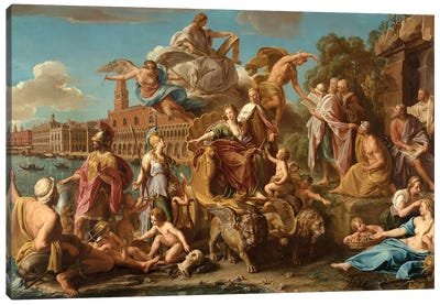 The Triumph of Venice, 1737  Canvas Art Print