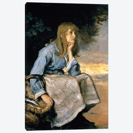 Caller Herrin'  Canvas Print #BMN8298} by Sir John Everett Millais Canvas Art Print