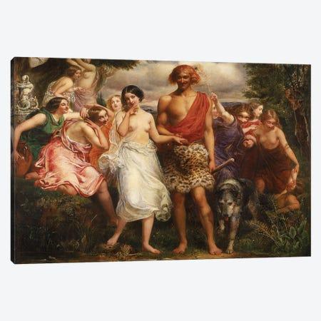 Cymon and Iphigenia, 1847-48  Canvas Print #BMN8299} by Sir John Everett Millais Canvas Art Print