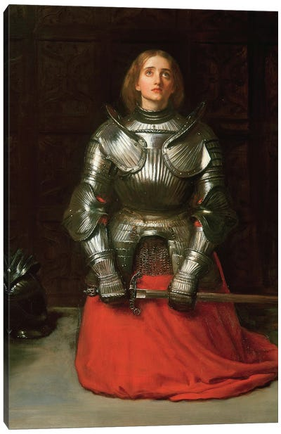 Joan of Arc, 1865  Canvas Art Print