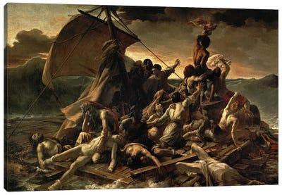 The Raft of the Medusa, 1819  Canvas Art Print