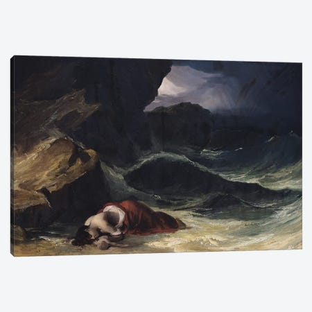 The Storm, or The Shipwreck  Canvas Print #BMN8323} by Theodore Gericault Art Print