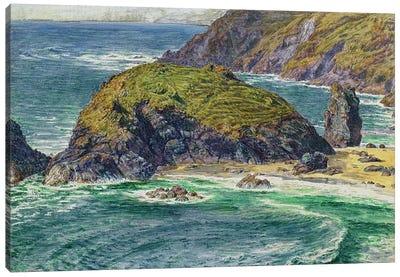 Asparagus Island Canvas Art Print