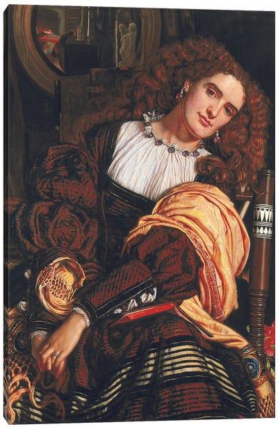 Il Dolce far Niente, 1866  Canvas Art Print
