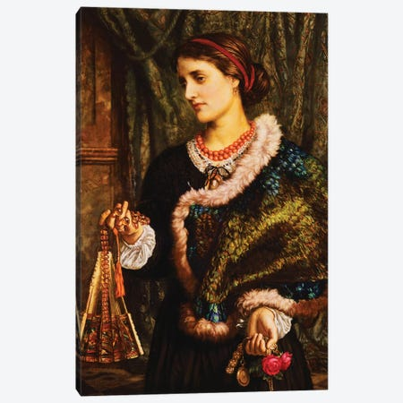 The Birthday,  Canvas Print #BMN8340} by William Holman Hunt Canvas Art Print