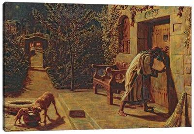 The Importunate Neighbour, 1895  Canvas Art Print
