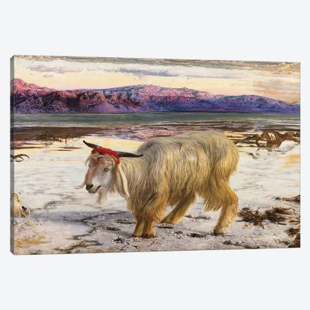 The Scapegoat, 1854  Canvas Print #BMN8347} by William Holman Hunt Canvas Wall Art