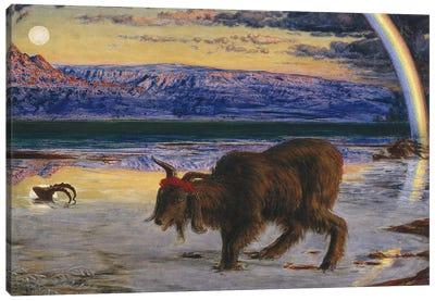 The Scapegoat, 1854-55  Canvas Art Print
