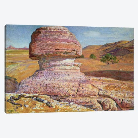 The Sphinx at Gizeh, 1854 Canvas Print #BMN8350} by William Holman Hunt Canvas Art