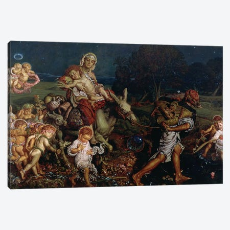 The Triumph of the Innocents, 1876  Canvas Print #BMN8351} by William Holman Hunt Canvas Art