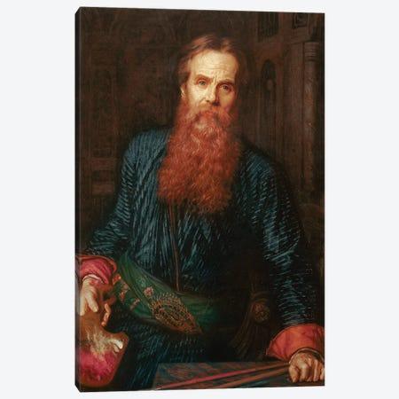 William Holman Hunt (1827-1910) English painter Preraphaelite portrait of the artist in 1875 Uffizi gallery in Florence Canvas Print #BMN8352} by William Holman Hunt Canvas Art