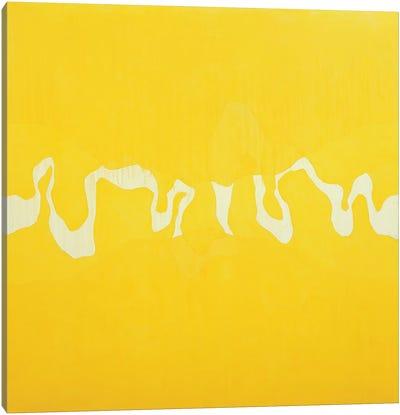 Yellow journey  Canvas Art Print