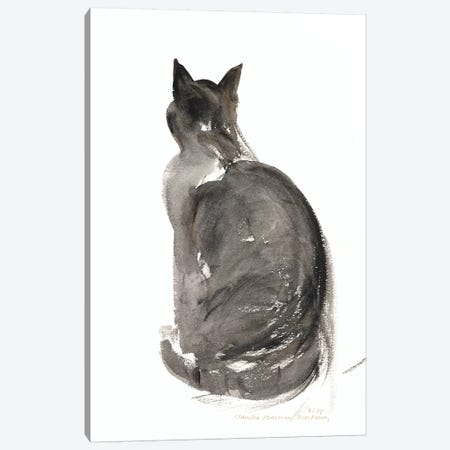 Cat, 1985  Canvas Print #BMN8369} by Claudia Hutchins-Puechavy Art Print