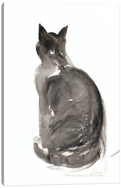 Cat, 1985  Canvas Art Print