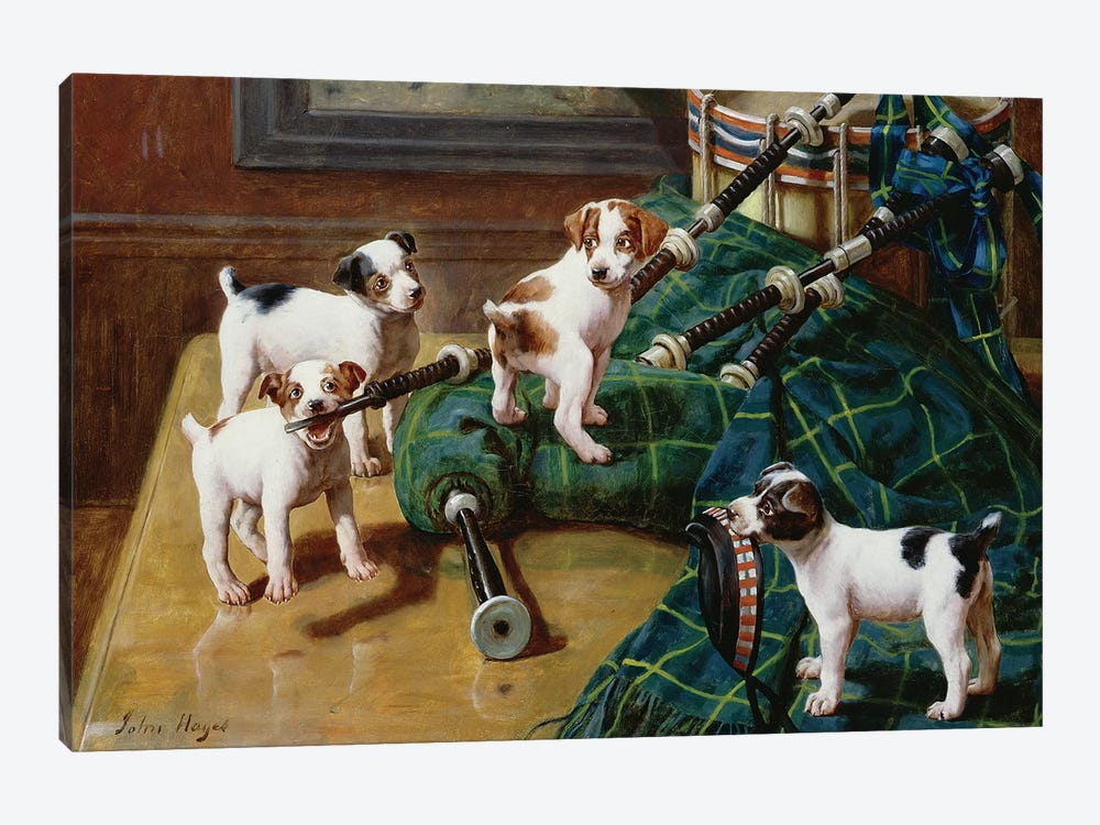 He Who Pays the Piper Calls the Tune by John Hayes 1-piece Art Print