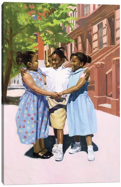 Friends, 2001  Canvas Art Print