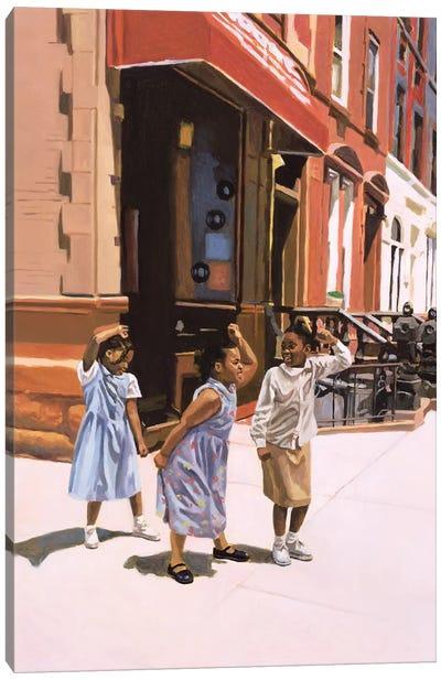 Harlem Jig, 2001  Canvas Art Print