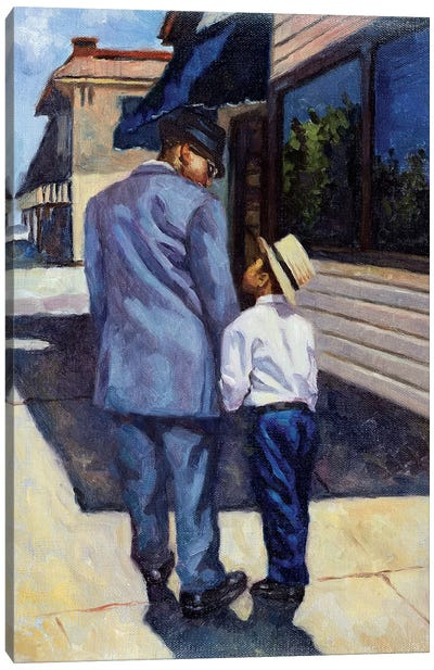 The Education of a King, 2001  Canvas Art Print