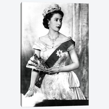 Queen Elizabeth II of England, 1952  Canvas Print #BMN8376} by Dorothy Wilding Art Print