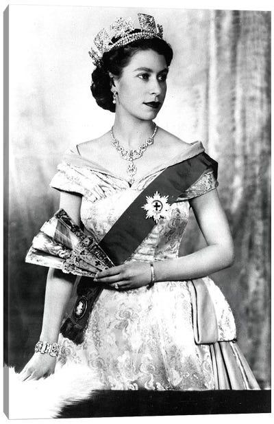 Queen Elizabeth II of England, 1952  Canvas Art Print