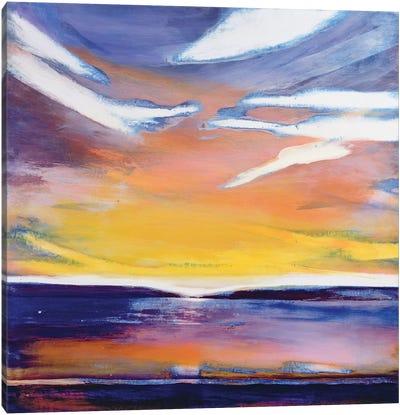 Evening seascape  Canvas Art Print