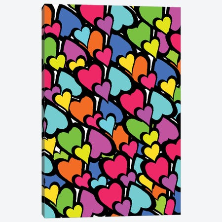 Hearts, 2011  Canvas Print #BMN8447} by Louisa Hereford Canvas Print