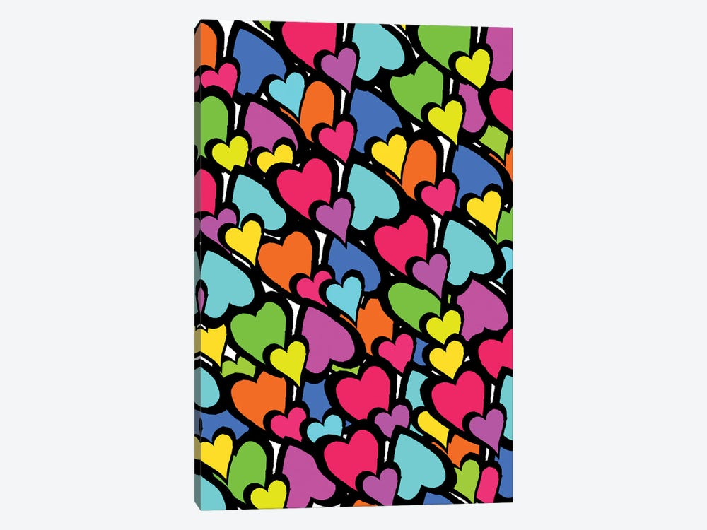 Hearts, 2011  by Louisa Hereford 1-piece Canvas Wall Art