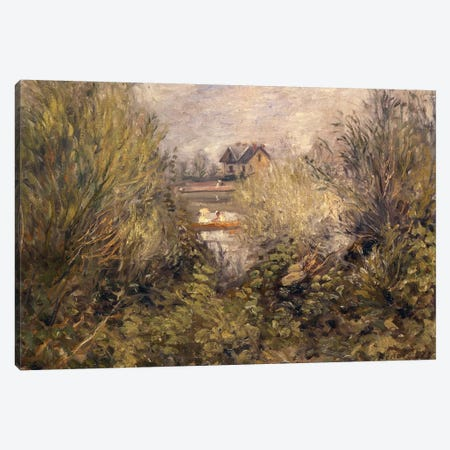 The Seine at Argenteuil, 1873 Canvas Print #BMN844} by Pierre-Auguste Renoir Canvas Art Print