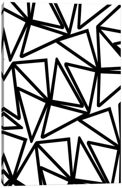 Triangles, 2011, Digital Media Canvas Art Print