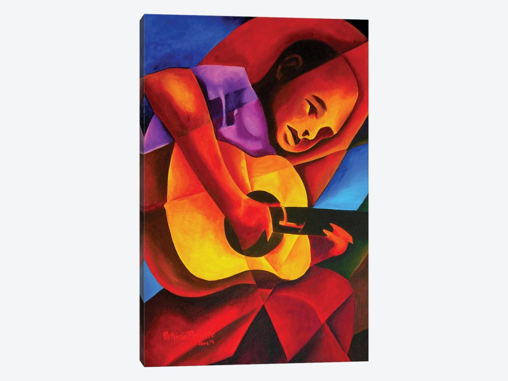 Andres, 2006  by Patricia Brintle 1-piece Canvas Art