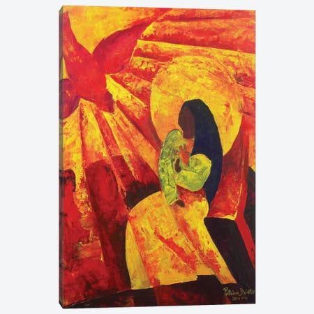 Annunciation, 2011  Canvas Print #BMN8457} by Patricia Brintle Canvas Artwork
