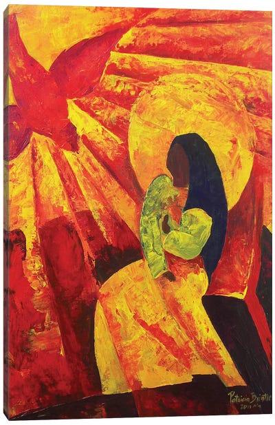 Annunciation, 2011  Canvas Art Print