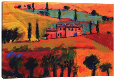 Tuscany, 2008  Canvas Art Print