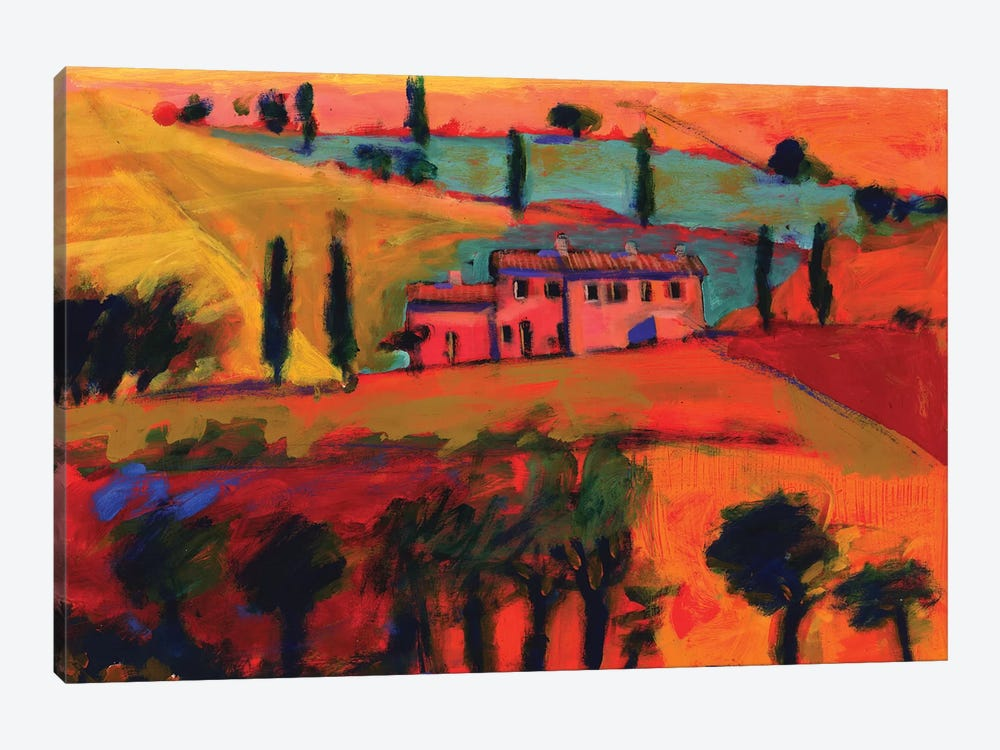 Tuscany, 2008  by Paul Powis 1-piece Canvas Print