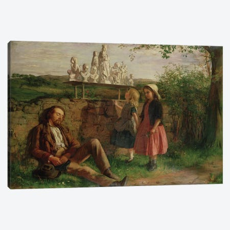The Italian Image Seller Canvas Print #BMN846} by Hugh Cameron Canvas Art Print
