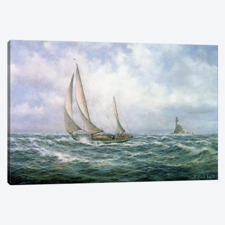 Fastnet Abeam Canvas Print #BMN8470} by Richard Willis Canvas Art Print