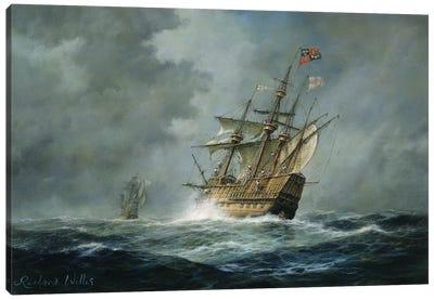 Mary Rose'  Canvas Art Print