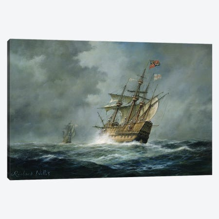 Mary Rose'  Canvas Print #BMN8473} by Richard Willis Canvas Art Print