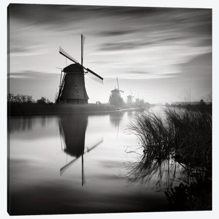 Kinderdijk, Netherlands, 2014  Canvas Print #BMN8477} by Ronny Behnert Canvas Artwork