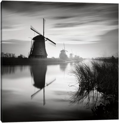 Kinderdijk, Netherlands, 2014  Canvas Art Print