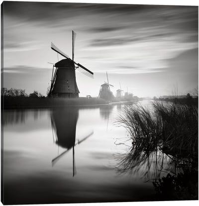 Kinderdijk, Netherlands, 2014  Canvas Art Print