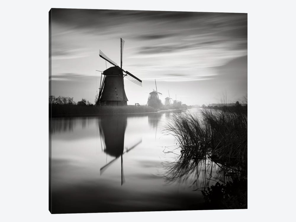 Kinderdijk, Netherlands, 2014  by Ronny Behnert 1-piece Art Print