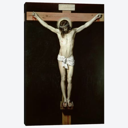 Christ on the Cross, c.1630  Canvas Print #BMN847} by Diego Rodriguez de Silva y Velazquez Canvas Print