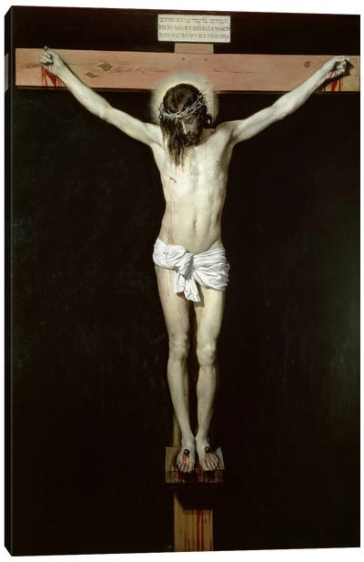 Christ on the Cross, c.1630  Canvas Art Print