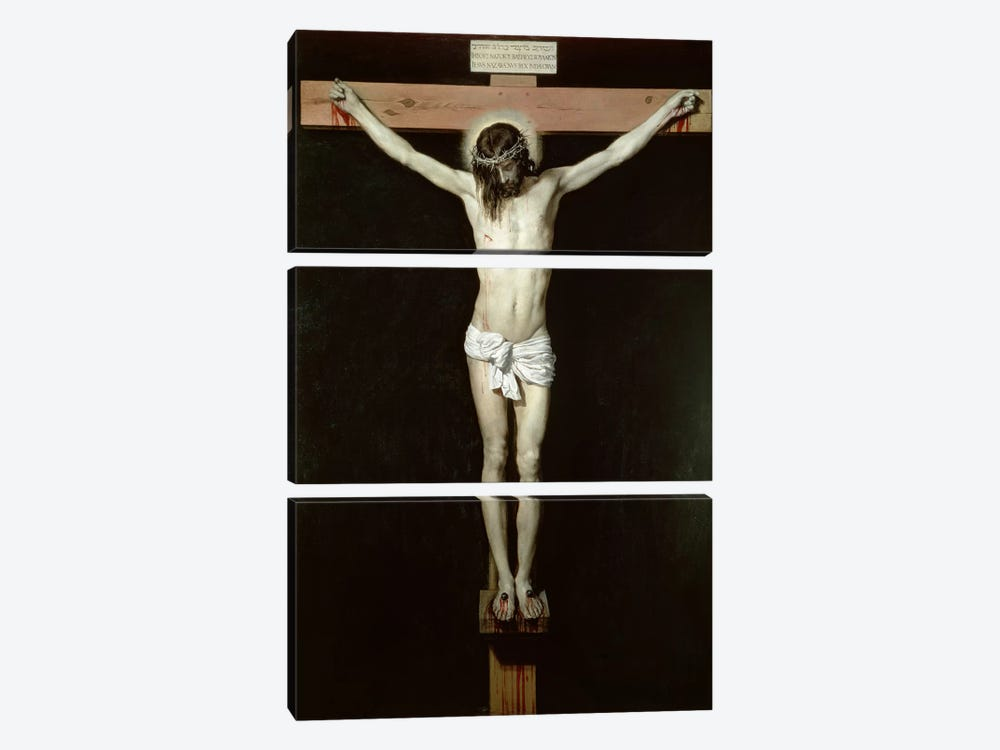 Christ on the Cross, c.1630 3-piece Canvas Art Print